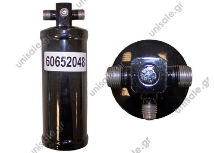 60652048 Standard Receiver Drier M x M with valve