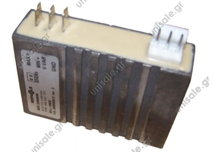 HISPACOLD 3200627   ΠΛΑΚΕΤΑ  ΜΟΤΕΡ   3200696 Hispacold Speed controller Used for Hispacold double blower  HISP 5300067 & 35300068, and single wheel blowe HISP 5300065 & 35300066.   3200627 & 3200696  Electronic Unit Brushless Motor w/speed