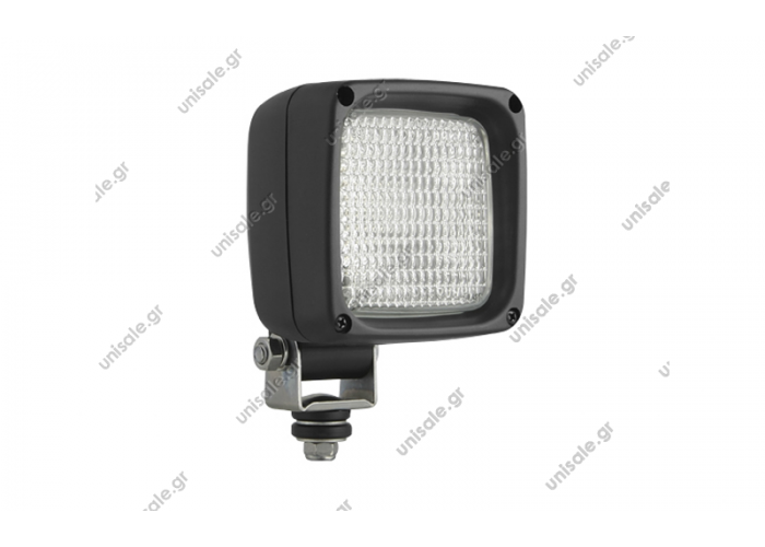 Halogen work lamps, square, LKR5 type