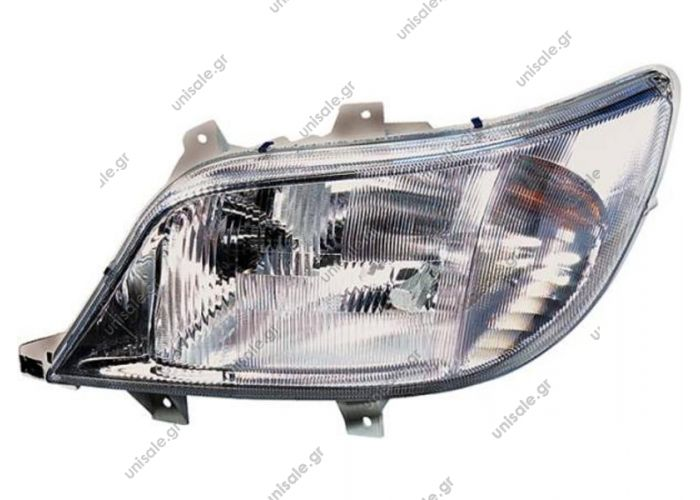 ΦΑΝΟΣ ΕΜΠΡΟΣΘΙΟΣ MERCEDES SPRINTER 04/00-08/02 MERCEDES A 901 820 14 61 (A9018201461), Headlight   HELLA 1EH 008 010-051 (1EH008010051), Headlight