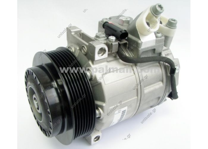 OE#0022304911 / 3311 COMPRESSOR PART 813137 COMPRESSOR TYPE VALE MERCEDES W204 C-CLASS '07 7PK 125MM, DCS17E 813137, Z0005773A OE : 0022304911/3311