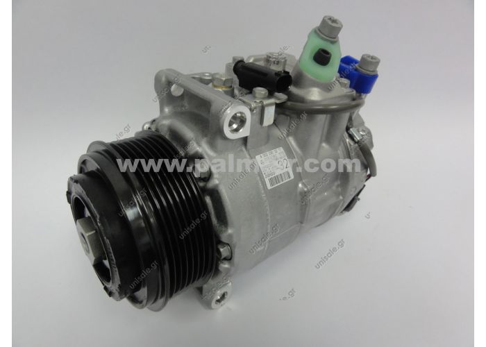 DCP17067 COMPRESSOR CLS 320 CDI 05-  MERCEDES W203 / W204 / W211 Compressor 7pk 100mm 6SEU16C DENSO#  Description: DIAM N GOR	TENSION	TYPE 100_PV7	12	6SEU16C Corresponding OEM codes: 0012308611 A0012308611