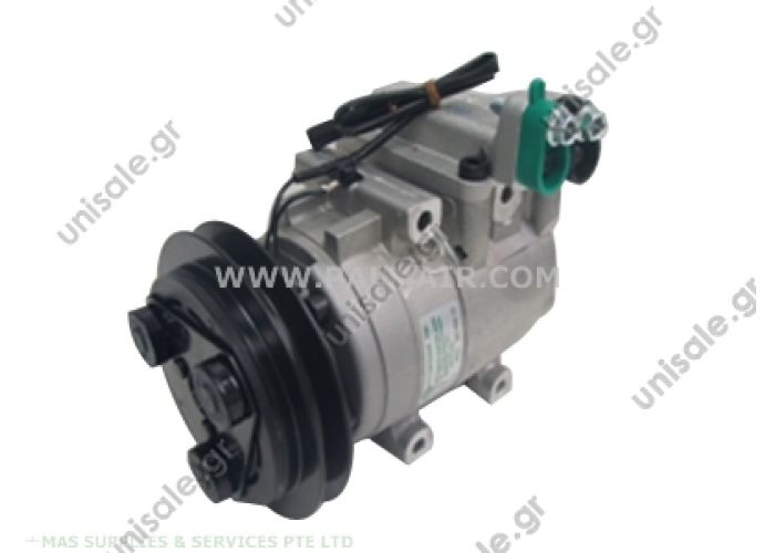 71-5800818  OE#97701-4B201  Compressor Visteon complete  HYUNDAI : 9770122261, 977012951  TSP0155219 Kompresor A/C Visteon FS10; 123mm; PV4; 12V; H; Hyundai Accent   HYUNDAI ACCENT Depuis 98 HYUNDAI EXCEL Depuis 01.95 HYUNDAI LANTRA II Depuis 06.95