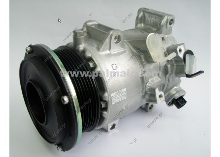 88310-28610  COMPRESSOR PART 447190-5810  COMPRESSOR TYPE DENSO 6SEU16C  CLUTCH 7PK  APPLICATIONS TOYOTA ESTIMA '06