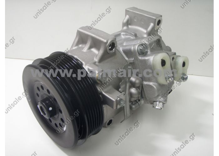 DENSO DCP50114, Compressor, air conditioning DENSO DCP50120, Compressor, air conditioning  TOYOTA Corolla '07 Compressor TOYOTA AVENSIS Estate	2003-... AVENSIS Saloon	2003-... AVENSIS	2003-... COROLLA Verso	2004-...