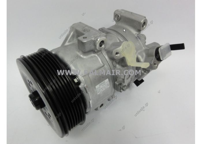 DENSO DCP50120, Compressor, air conditioning  TOYOTA Avensis 1.6/1.8 (2001-2003) Compressor