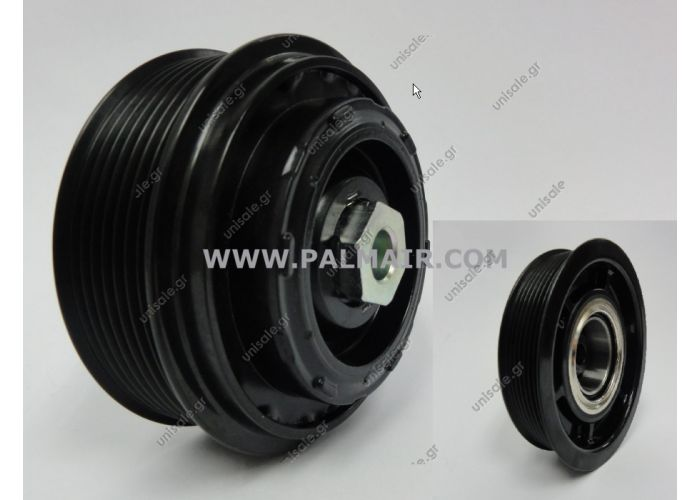 MERCEDES W204 / W203 / W211 Clutch-Less Pulley Assembly for 6SEU16C 7PK 105mm for OE# 0022303211 / 0012308611