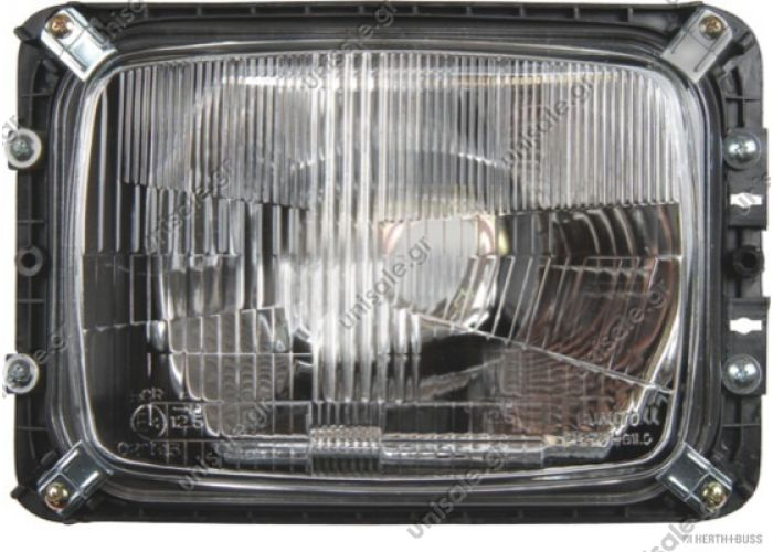 ΦΑΝΟΣ ΕΜΠΡΟΣΘΙΟΣ MERCEDES 507D-814D MERCEDES A 001 820 14 61 (A0018201461), Headlight HELLA 1AE 003 440-671 (1AE003440671), Headlight