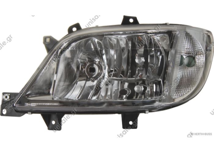 4.67952 DT Προβολείς (ΚΩΔΙΚΟΙ OEM: 901 820 26 61) αριστερά   Headlamp, left, without bulbs replaces Hella: 1EH 246 047-051 / LHD  Art. No. 4.67952  MERCEDES 80658644 MERCEDES-BENZ A 901 820 26 61 901 820 26 61 1EH 246 047-051 HELLA