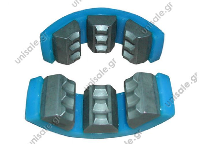 80807136  ΑΚΡΑ  ΠΡΕΣΣΑΣ ΜΑΡΚΟΥΤΣΙΟΝ   AIRCONTITION   Jaws for Atco 3700 G8 (blue) Tools and consumable Hand Tools Crimping