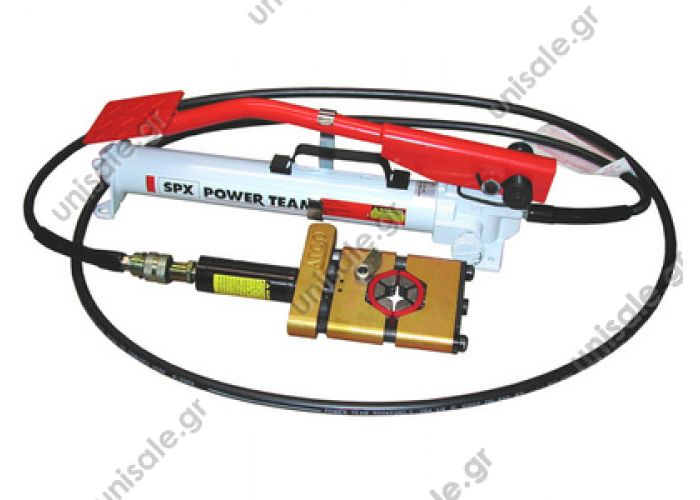 80807313  Atco 3710 ΠΡΕΣΣΑ ΥΔΡΑΥΛΙΚΗ ΓΙΑ ΜΑΡΚΟΥΤΣΙΑ HYDRA-KRIMP  HYDRAULIC CRIMPING TOOL ATCO Automotive A/C Hose Hydra-krimp Crimper    crimping machine (6 inserts)  3710-C Crimper w/Air-Hydraulic Pump 3710-C Crimper w/Foot Pump