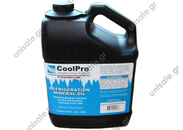 80813003 Oil R12 CoolPro (3,78 Kg)