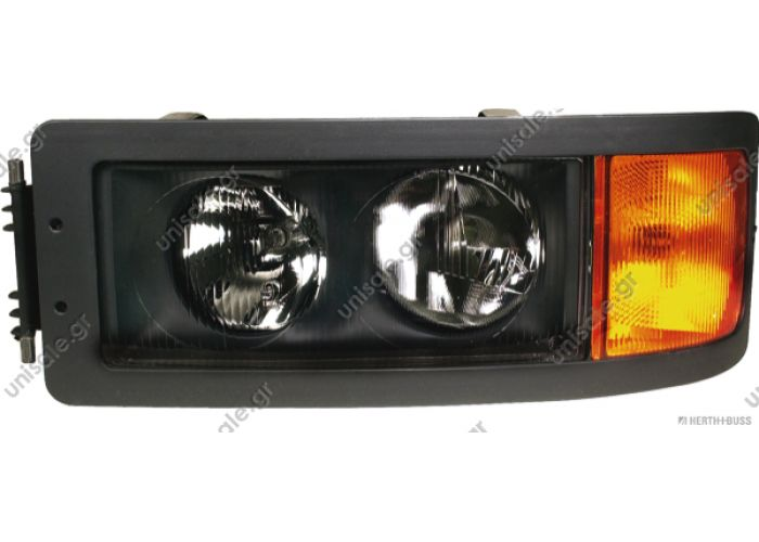 81.25101-6291  MAN  81658544 Εμπρόσθιοι φανοί OE: 81251016289  Headlamp, left LHD  Art. No. 3.31001   Vehicle brand	Model, Engine, Gearbox, Axle, Cabin MAN F/M/L 2000, F/M/G 90, F 7/8/9	L 2000 (L63), M/F 2000