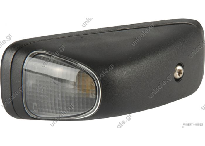 4.63497 DT Κρύσταλλο, φώτα θέσης   Position lamp, roof, right, with bulb Art. No. 4.63497 Marker Light, Right for Mercedes Atego, Axor   MERCEDES 82710139 HERTH+BUSS ELPARTS - Marker Light MERCEDES-BENZ A 002 820 51 56 002 820 51 56