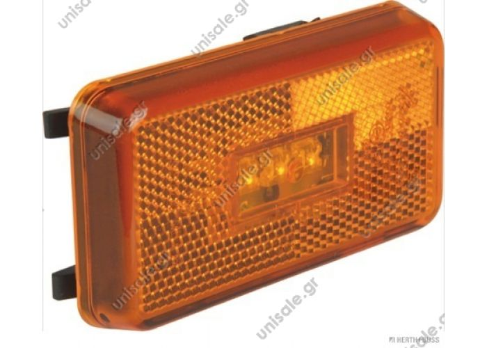 SCANIA 144  07 228 Marker lamp LED Scania Marking Light LED for Scania  Rubbolite 615  Connector:  07 229 Connector Marker Lamp   OE numbers: 1737413