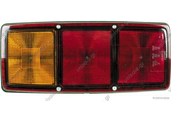 MERCEDES ΝΕΑ ΓΕΝΙΑ HELLA 2SE 003 167-031 (2SE003167031), Combination Rearlight; Combination Rearlight    DT 4.63546 (463546), Combination Rearlight