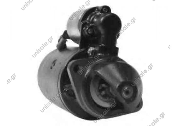 0001362046 BOSCH ΜΙΖΑ 12V 2,4kW 9Δ KHD MOTOR F2L410, F2L411, F2L411, F1L410   BOSCH ΜΙΖΑ 12V  DEUTZ ENGINES  KHD F2L 081.382.046 BOSCH 0 001 362 046 (0001362046)  12v 9t 2.4kw DD  Bosch  Atlas Bobcat KHD Deutz Motor Klble New Holland O&K