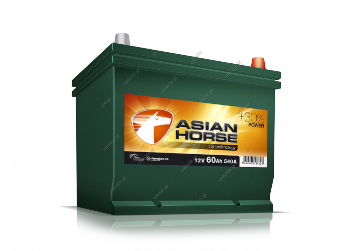 ASIAN HORCE 12V 60AH 540 A
