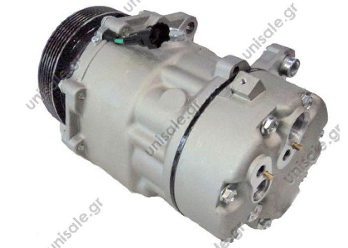 40430264 SEAT Ibiza III Serie Compressor Sanden variable SD7V16    OE: 1076012 - 1080 - 1111419 - 1206 - 1215 - 1221 - 1226 - 1231 - 1233 - 1245 - 1278 - 1283 - 1J00820803A - 1J00820805 - 1J0820803 - 1J0820803A - 1J0820803B