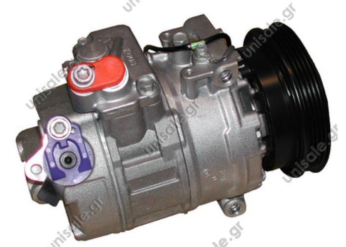 40440086 Compressor Denso complete    SKODA Superb 1.8T VOLKSWAGEN : 8D0260805B, 8D0260805J, 8D0260808