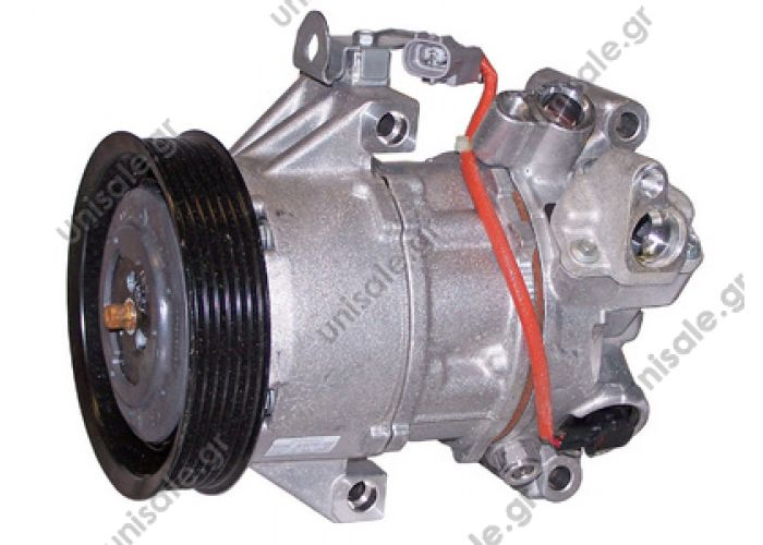 40440187  ΣΥΜΠΙΕΣΤΗΣ TOYOTA   ΚΟΜΠΡΕΣΕΡ AC DENSO TOYOTA YARIS 1.0 1.3 16V DCP50001     ΤOYOTA Yaris 1.0 - 1.3 TOYOTA YARIS	1999-.. DENSO DCP50001, Compressor, air conditioning  883100D140 883100D010