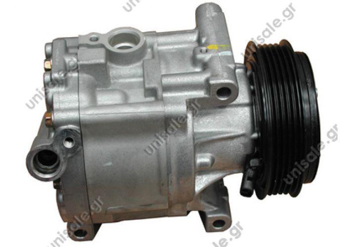 40440069 FIAT 500 1.2 - 1.4 Compressor Denso complete FIAT : 46782669, 51747318 LANCIA : 51747318, 46782669