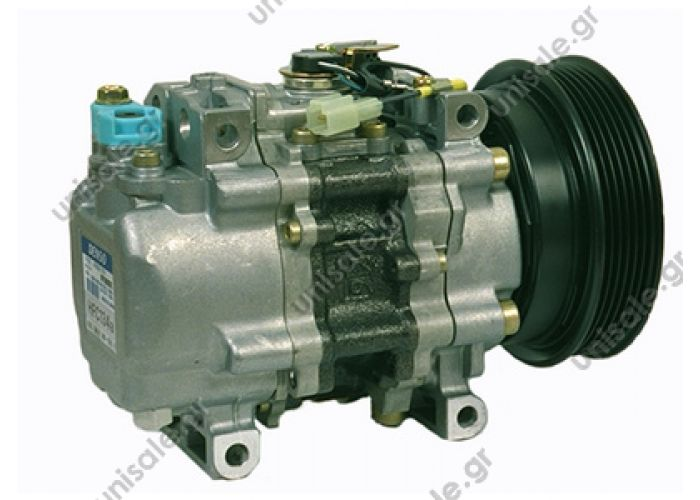 40440006.1 FIAT Bravo 1.8 16V - 2.0 20v  Compressor, air conditioning Manufacturer Restriction:FIAT : 46438576 LANCIA : 46438576    TV12SC447100-0960  Cooling agent: R 134 A     544071400 46514137