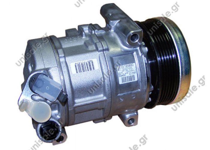 Compressor FIAT Grande Punto 1.2 - 1.4 - 1.4 16V 1854292 - 55194880 - 71789105 - 71789107 DCP09016 DENSO 5SL12 DCP09016 COMPRESSOR G.PUNTO 1.2 05- Κωδικός Προϊόντος : DCP09016 COMPRESSOR G.PUNTO 1.2 05-