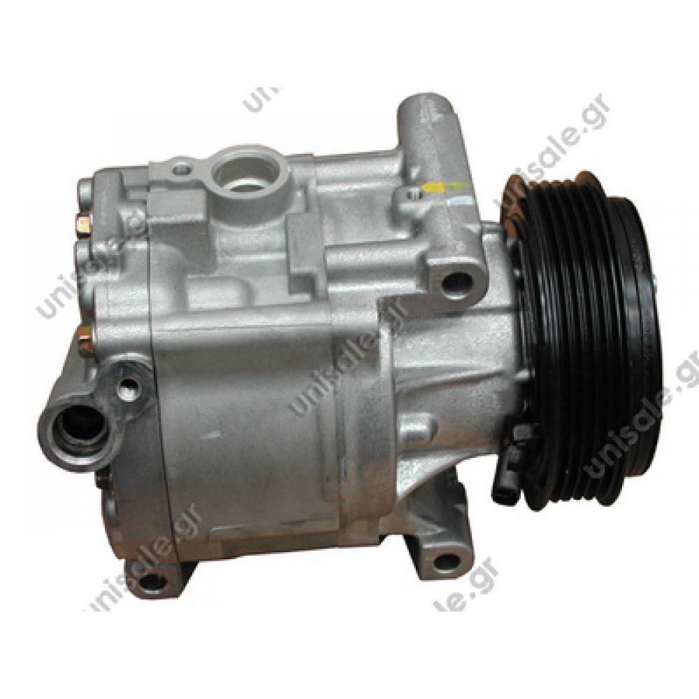 12 Fiat 500 Abarth Alternator Compressor Bracket: 1.4 16V Compressor Denso