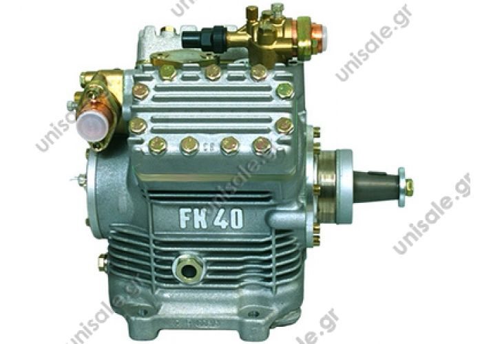 40430279 BOCK Compressor FKX 40/560K 13990 / 24010106046 / 42541852 / 500369351 / 50039 A 629 830 91 60 , 36.77970-6001 , 36.77970-6037 , H13-003-506 , 1100354A with capacity control   kompresor BOCK FKX40-560 K, OEM 13990 / 42541852 / 500369351 / 500