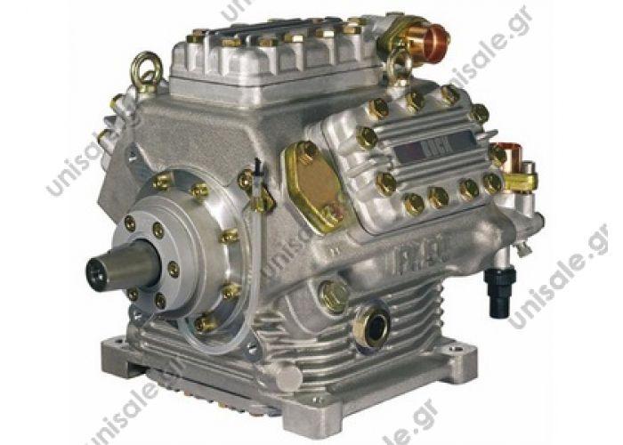 40430111 BOCK Compressor FKX50/660 K with shut-off valves DescriptionCompressor FKX50/660K 1 unloader Pressure valve on top, 2 suction valves behind Article features NameValue Bemerkung/RemarkVergl.-Nr./Ref.: H13-003-552