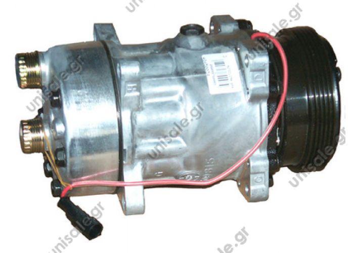 40450034CP Compressor Sanden Fix R134a SD7H15     FIAT Ducato 2.8 jtd  CITROEN : 6453T0 PEUGEOT : 6453T0