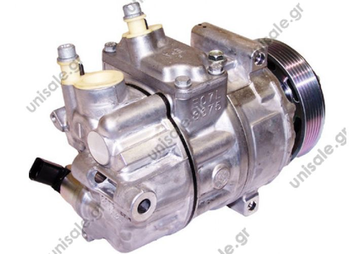 40405154  COMPRESSOR,NEW, SANDEN     VW Caddy III Serie  1601 - 1615 - 1620 - 1711 -PXE16 VW GOLF, JETTA, 01/03-12/13 4 CYL & V6 110mm 6PV NCSU    1K0820803F - 1K0820803G -