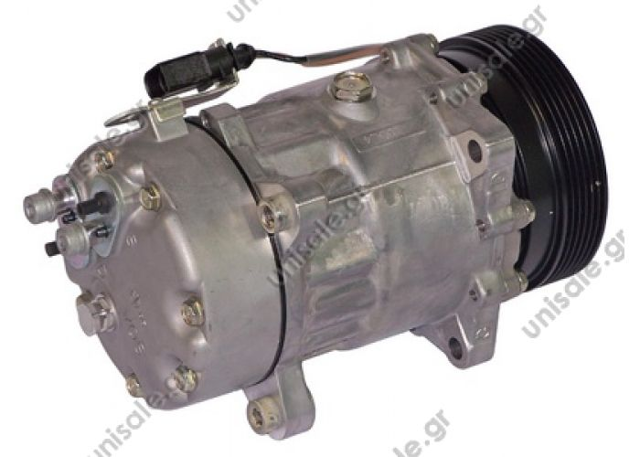 40405094   ΚΟΜΠΡΕΣΣΕΡ A/C     1J0-820-803L     VW Transporter V serie 2.0 - 3.2 / 1.9 tdi - 2.5 tdi Compressor Sanden variable SD7V16      OE: 1076012 - 1080 - 1111419 - 1206 - 1215 - 1221 - 1226 - 1231 - 1233 - 1245 - 1278 - 1283 - 1J00820803A