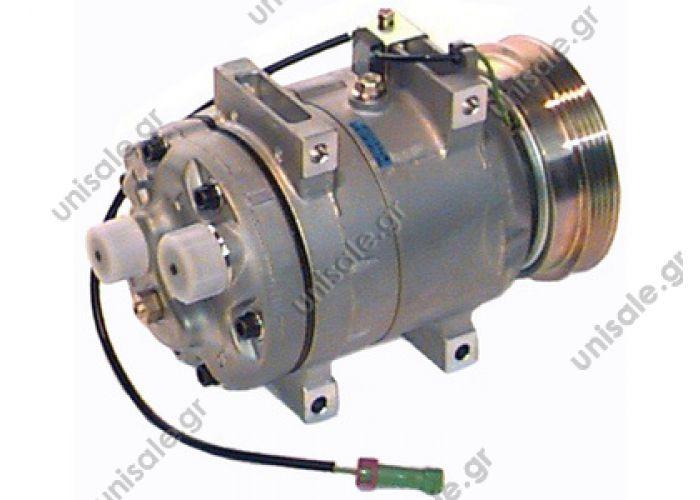 40430076  Compressor A / C Zexel DCW17B; 119 mm; PV4; 12V; H O-ring; 250cc; Audi A4; A6; VW Passat  Seltec Valeo compressor AUDI A4 I Serie 1.6 - 1.8 - 1.8 T / 1.9 tdi 8D00260805D - 8D0260805 - 8D0260805D - 8D0260805F - 8D0260805M - 8D0260805MX 8D0260811A