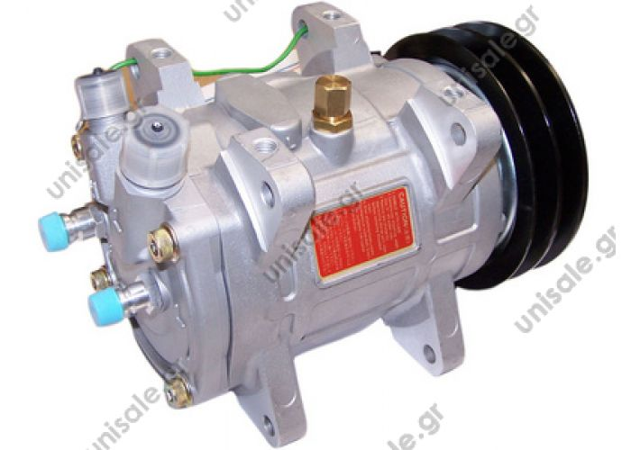 40435072 UP 200 12V 2 Grooves  Auto A/C Compressor for Bus Air Conditioning Unicla UP-200 Model Number:UP-200 Brand Name:Unicla Country of Origin:Japan