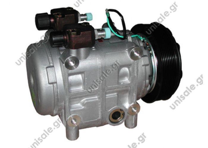 40430114 TM 31 HD 24V Poly-V 8 Seltec Compressor 10046570 OEM# 488-46570  OE: 102736 - 240103023 - 50182 - 5050095 - 555555 - 781201044 - 834555 - D053295