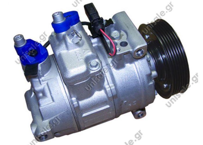 40440115 Compressor Denso complete   DCP02043 COMPRE AUDI A4 3.2 TFSI 07    AUDI A4 II Serie 1.6 - 1.8 T - 2.0 AUDI : 8K0260805F, 8K0260805C