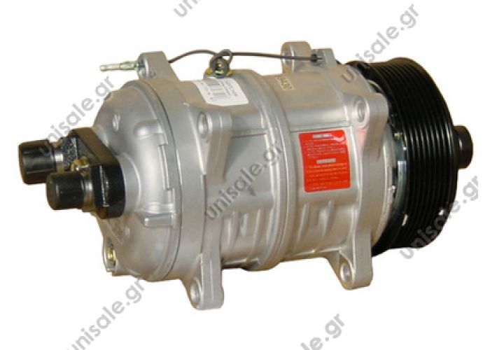 40430051 Compressor Seltec Valeo TM16 TYPE : TM 16 12V POLYV 8     TM 16 HD OR Horizontal 12V Poly-V 8