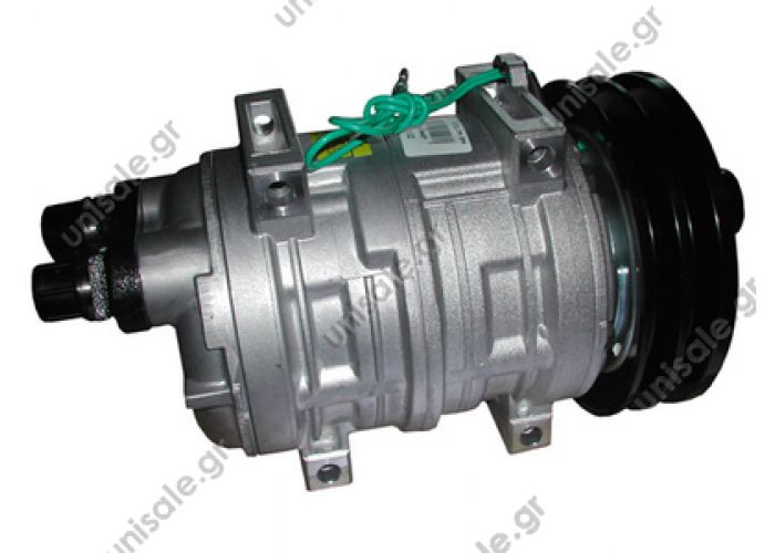 40430102  Compressor Seltec Valeo TM21 TYPE : TM 21 24V 2 GORGES   TM 21 HD OR Horizontal 24V 145 mm 2G A
