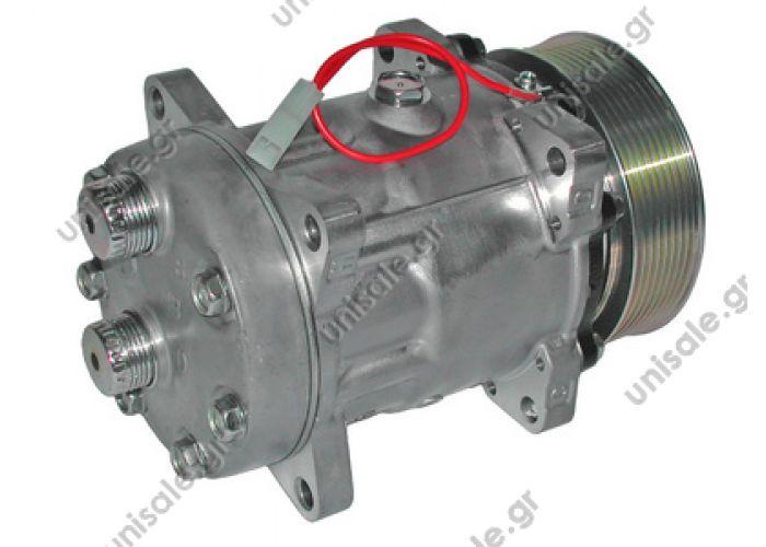 40405300  SD 7H15 OR Rotolock Horizontal In line 12V Poly-V 8