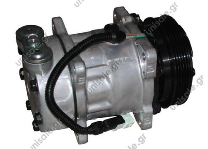 40405105CP  ΣΥΜΠΙΕΣΤΗΣ DAF XF 105 DAF 95 XF    Compressor Sanden Fix R134a SD7H13    PEUGEOT 106 OE: 6453GN - 6453N3 - 7300 - 9616821480