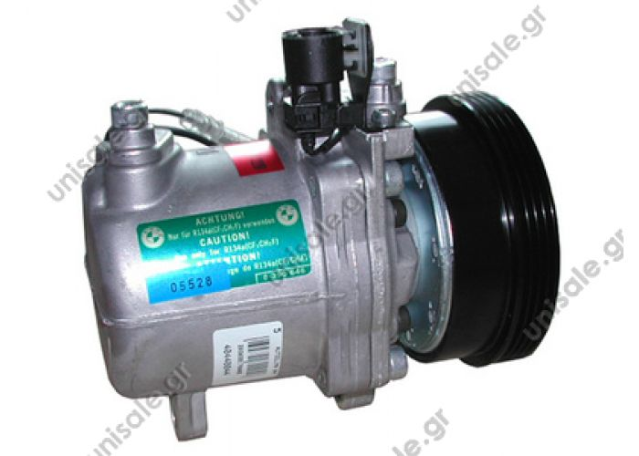 40440044  ΣΥΜΠΙΕΣΤΗΣ BMW E36 (93-98)  Aircondition Compressor Seiko seiki compressor  AC Compressor BMW 318i, 318is, 318ti, Z3 AC  Seiko-Seiki SS96D1  - 64528385714  BMW E36 Z3  64528385714 / 64528390228 Fits on models: Z3  1.8  1.9 M43  1.9 M44