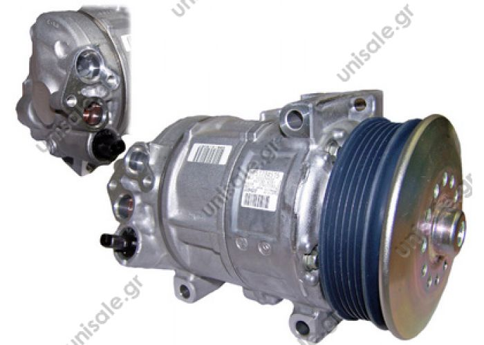 40440170 AIR CONDITIONING COMPRESSOR   LANCIA Delta III Serie 1.4 OEM: 51794515  DCP09020  DENSO: 447190 9700 DEPLH of: TSP0155951