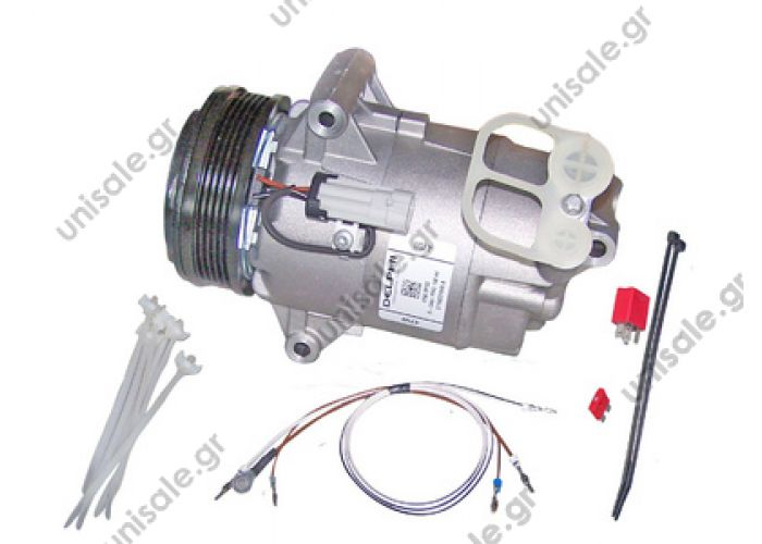"40420030  Compressor Delphi (harrison) OEM    OPEL Astra  ""H"" 1.6 (see notes) OE: 1139068 - 13124750 - 24466994 - 6854059 - 6854062 - 6854088 - 93187227 - 93187232"