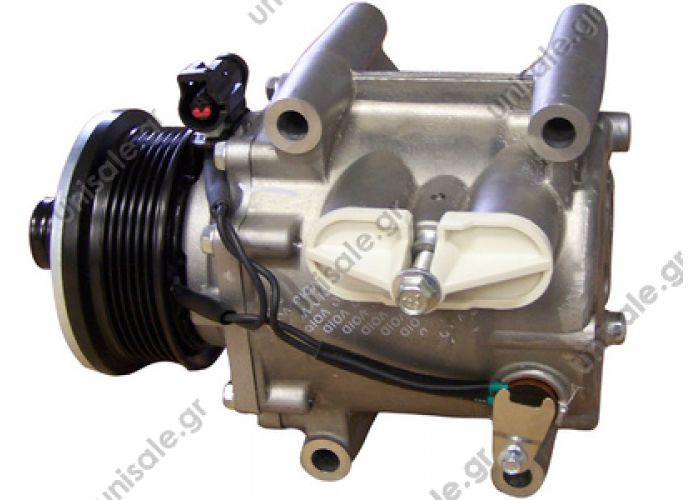 40440137  JAGUAR X-Type 2.0 V6 - 2.5 V6 - 3.0 V6 AIR CONDITIONING COMPRESSOR FOR YOUR JAGUAR XJR 1994 TO 1997 XJR6     1016001024 / 7X4319D629AA / C2S42081 / C2S44928 / XR820839   TSP0155387 Kompresor A/C Visteon Scroll; 98mm; PV6; 12V; H(bok); Jaguar X
