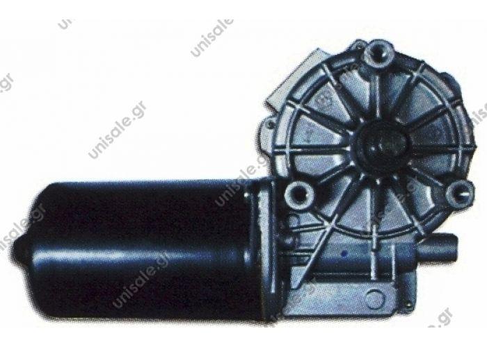 ΜΟΤΕΡ ΥΑΛΟΚΑΘΑΡΙΣΤΗΡΑ M/S 35-44 ΜΟΤΕΡ ΥΑΛΟΚΑΘΑΡΙΣΤΗΡΑ 24V MERCEDES 4850  Wiper motor replaces Bosch: 0 390 242 404  Art. No. 4.62880