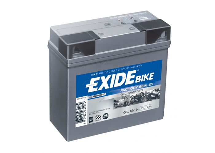 EXIDE MC GEL BATTERY