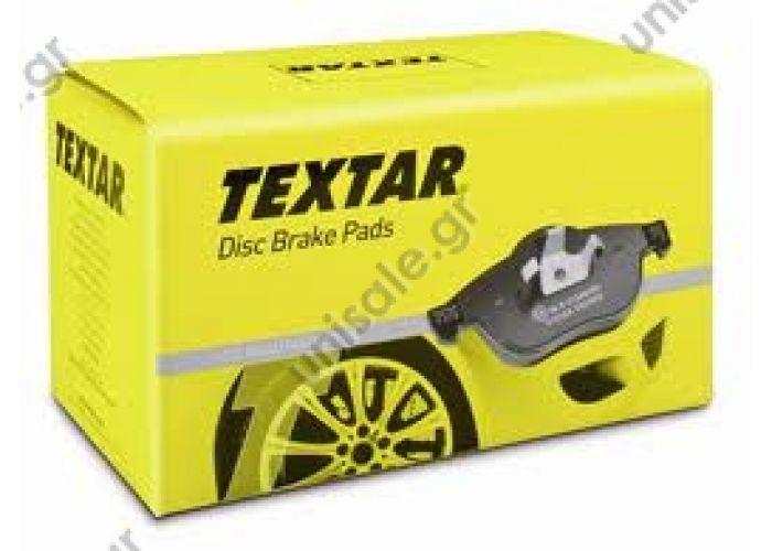 2358102 TEXTAR Σετ τακάκια, δισκόφρενα (ΚΩΔΙΚΟΙ OEM: 6q0698151c)   Eμπρόσθια Τακάκια Textar Για Ibiza FR,Polo 1.8GTI