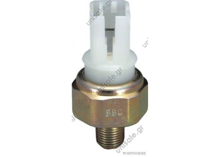 J5611004  HERTH+BUSS JAKOPARTS  Διακόπτης πίεσης λαδιού Oil Pressure Switch for Ford, Infiniti, Nissan, Renault   OEN 25240-70J00 — NISSAN OEN 25240-89915 — NISSAN OEN 25240-89920 — NISSAN OEN 2524089960 — NISSAN OEN 252408996E — NISSAN
